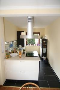 Kleiner Raum, große Küche Gesamtansicht