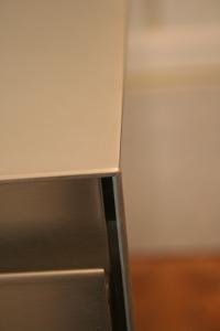 Detail: Arbeitsplatte, Wange, Front